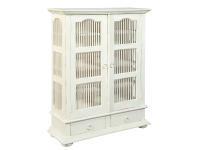 2-8372 Bird Cage Door Cabinet,28372,cabinets,chests,door cabinets,living room,bedroom,bird cage
