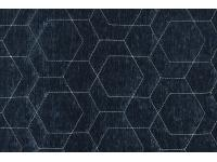 4043-051 HEXAGON QUILT INDIGO