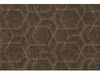 4043-083 HEXAGON QUILT ONYX