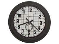 625-625 Grid Iron Works,625625,clocks,wall clocks,oversized wall clocks,non chiming wall clocks