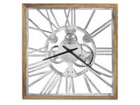 625-679 Mecha Square Wall Clock,625679,clocks,wall clocks,oversized wall clocks