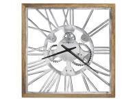 625-679 Mecha Square Wall Clock,625679,clocks,wall clocks,oversized wall clocks