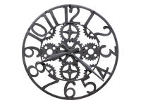 625-698 Iron Works Wall Clock,625698,clocks,wall clocks,oversized,non-chiming