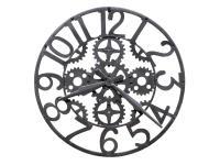 625-698 Iron Works Wall Clock,625698,clocks,wall clocks,oversized,non-chiming