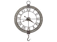 625-699 Clock Pulley Wall Clock,625699,clocks,wall clocks,oversized,non-chiming