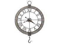 625-699 Clock Pulley Wall Clock,625699,clocks,wall clocks,oversized,non-chiming