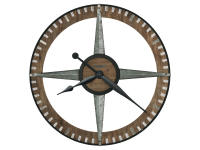 625-709 Buster Gallery Wall Clock,625709,clocks,wall clocks,oversized wall clocks,oversized,gallery wall clocks