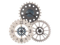 625-725 Cogwheel I Gallery Wall Clock,625725,clocks,wall clocks