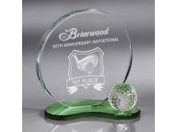 650-084CM Emerald - Large,650084cm,crystal awards,awards