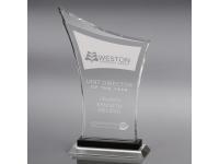 650-090CM Crescendo - Large,650090cm,awards,crystal awards,large