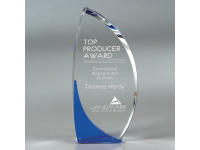 650-115CM Accord Blue - Small,650115cm,awards,crystal awards,small