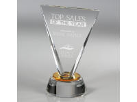650-126CM Solstice - Small,650126cm,awards,crystal awards,small