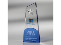 650-136CM Polaris Star - Medium,650136cm,awards,crystal awards,medium