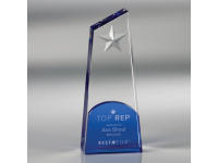 650-137CM Polaris Star - Large,650137cm,awards,crystal awards,large