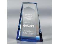650-138CM Ascend Blue - Small,650138cm,awards,crystal awards
