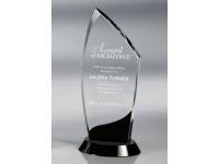 650-145CM Crest Onyx - Large,650145cm,awards,crystal awards