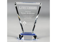 650-153CM Vortex Blue - Medium,650153cm,awards,crystal awards
