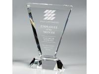650-155CM Vortex Clear - Small,650155cm,awards,crystal awards