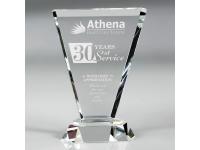 650-156CM Vortex Clear - Medium,650156cm,awards,crystal awards