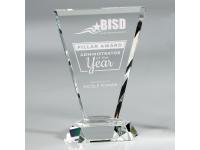 650-157CM Vortex Clear - Large,650157cm,awards,crystal awards