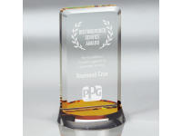 650-168CM - Harmony Gold - Medium,650168,650168cm,awards,crystal awards