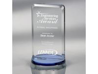 650-172CM - Harmony Blue - Large,650172cm,awards,crystal awards
