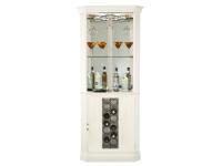 690-046 Piedmont V Corner Wine & Bar Cabinet,690046,cabinets,wine,bar,corner cabinets
