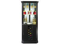 690-048 Piedmont VII Corner Wine & Bar Cabinet,690048,cabinets,corner cabinets,wine, bar
