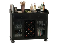 695-002 Cabernet Hills Wine & Bar Console,695002,consoles,cabinets,wine & bar
