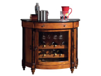 Genial 695 016 Merlot Valley Wine U0026 Bar Console