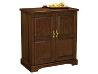 695-117 Lodi II Wine & Bar Console,695117,cabinets,wine, bar, consoles