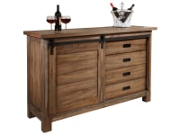695-144 Homestead Wine & Bar Console,695144,consoles,cabinets,wine cabinets,bar cabinets,wine & bar cabinets