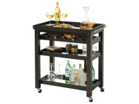 695-166 Pienza Wine & Bar Cart,695166,carts,consoles,wine carts,bar carts,wine consoles,bar consoles