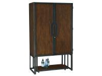 695-209 Sidecar Wine & Bar Cabinet,695209,cabinets,wine cabinets,bar cabinets,wine,bar