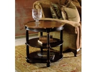 7-2307 Round Library Table,72307,Tables