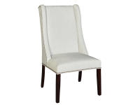 7296 Nikolas Hostess with Nailheads,7296,chairs,upholstered chairs,hostess,dining room