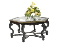 7-4106 Octagon Coffee Table,741066081,Tables