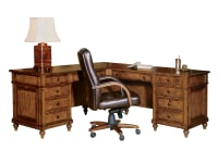 7-9107 Urban  Ash Executive L-Desk ,79107,Desks