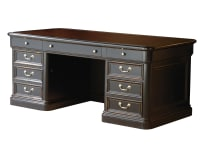 7-9140 Louis Phillippe Executive Desk ,79140,Desks