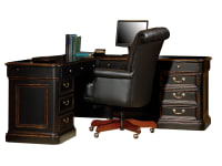 7-9147 Louis Phillippe Executive L-Desk,79147,Desks
