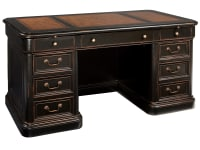 7-9150 Louis Phillippe Junior Executive Desk,79150,Desks