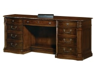7-9161 Old World Walnut Executive Credenza ,79161,Credenzas