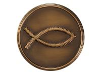 800-161 Christ Fish,800-161,800161,memory medallions