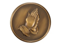 800-163 Praying Hands,800-163,800163,memory medallions