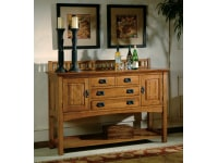 8-4032 Arts & Crafts Sideboard