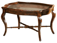 8-7200 Rue de Bac Oval Coffee Table