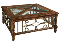 8-7215 Square Coffee Table,87215,Tables