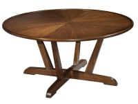 951302MW Mid Century Modern Round Coffee Table,951302mw,tables,coffee tables,round coffee tables