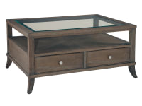 952201SU Urban Retreat Coffee Table with Drawers,952201su,tables,coffee tables