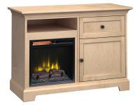 FP46J Fireplace Custom TV Console,fp46j,consoles,tv consoles,custom tv consoles,fireplace